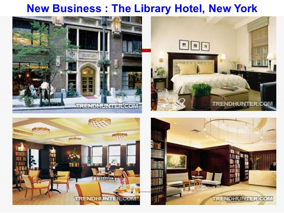 New Business : The Library Hotel, New York