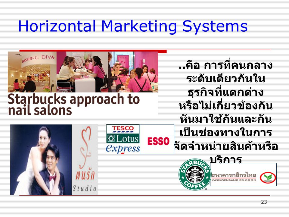Horizontal Marketing Systems