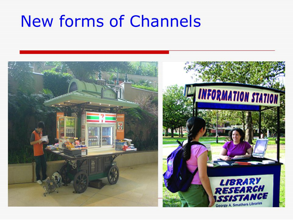 New forms of Channels