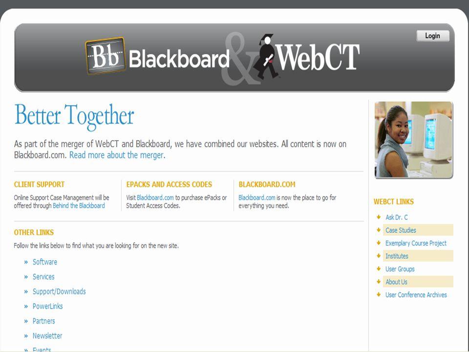 Blackboard&WebCT