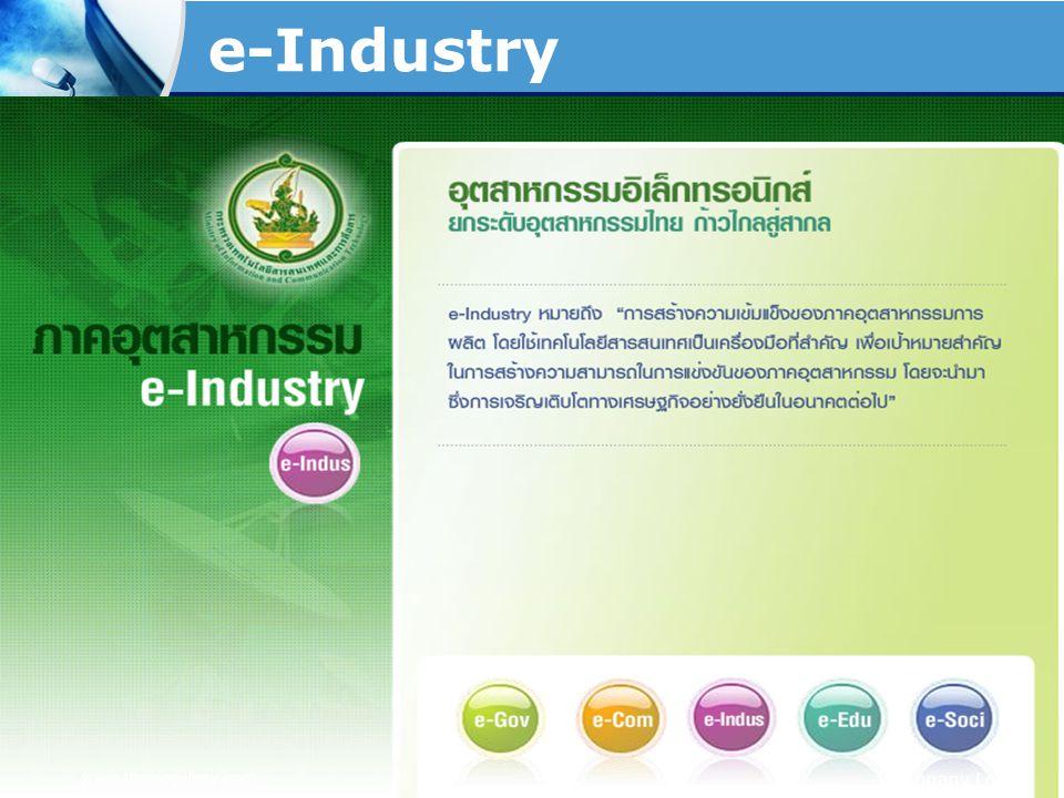 e-Industry www.themegallery.com Company Logo
