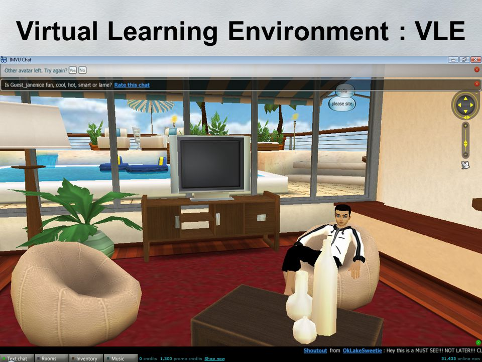 Virtual Learning Environment : VLE