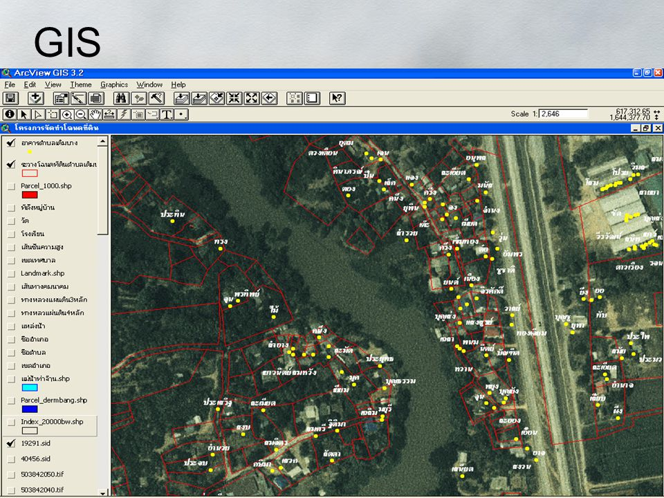 GIS Geographic Information System Image Sensing Google Earth