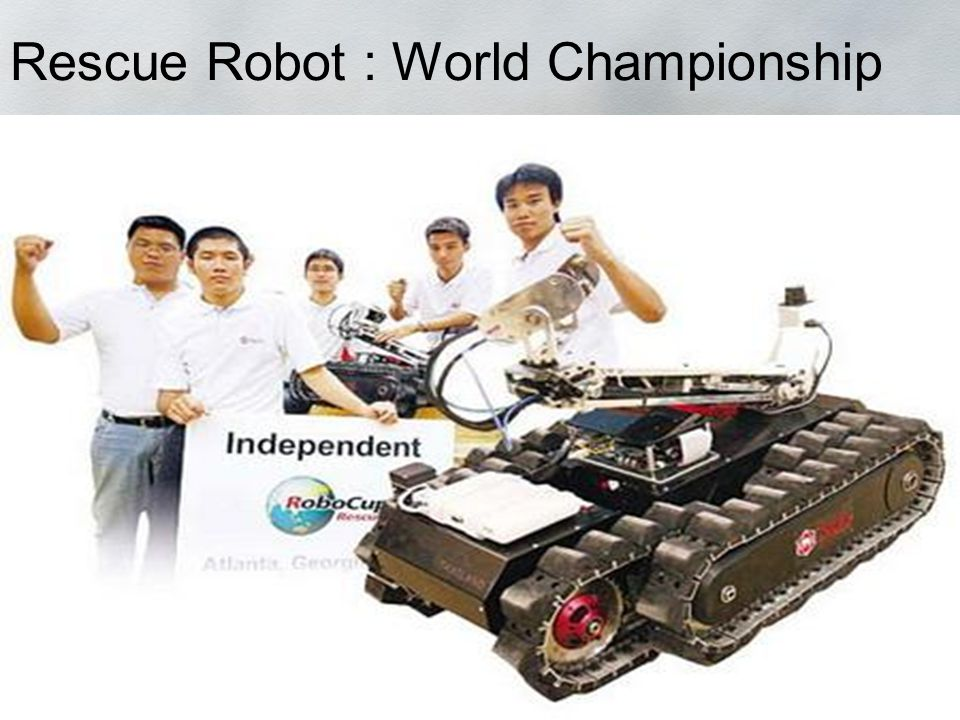 Rescue Robot : World Championship