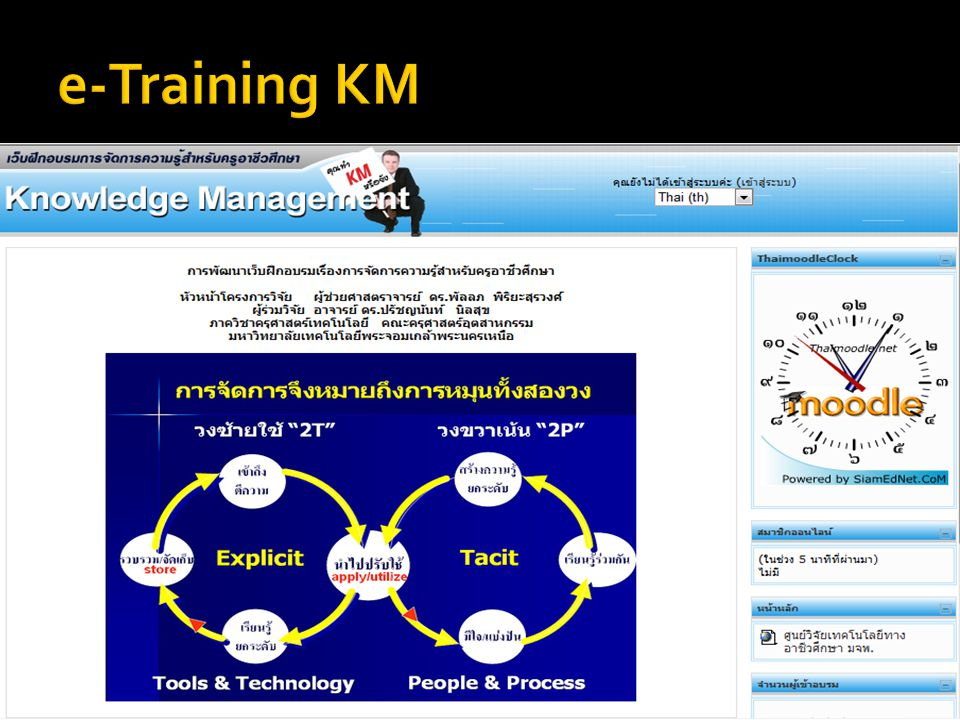 e-Training KM
