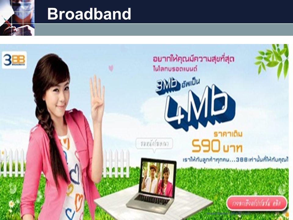 Broadband www.themegallery.com