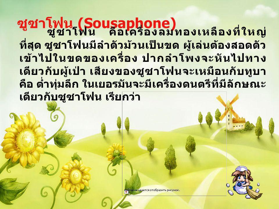 ซูซาโฟน (Sousaphone)