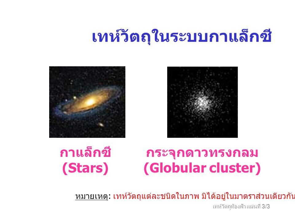 กระจุกดาวทรงกลม (Globular cluster)