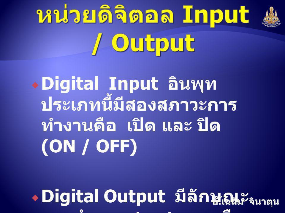 หน่วยดิจิตอล Input / Output