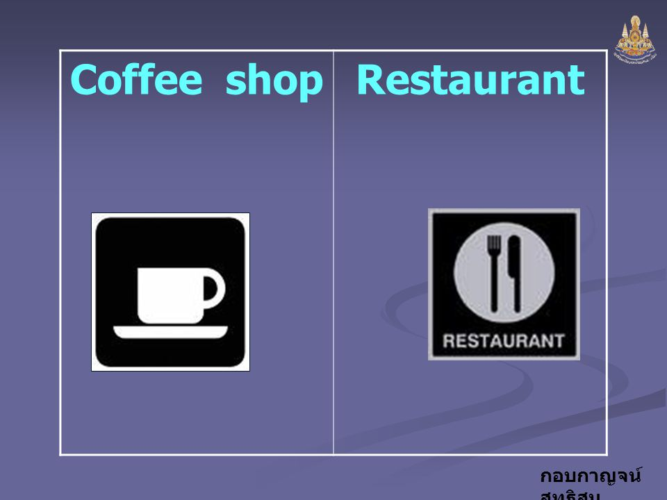 Coffee shop Restaurant