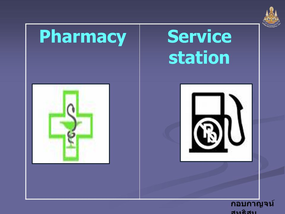 Pharmacy Service station