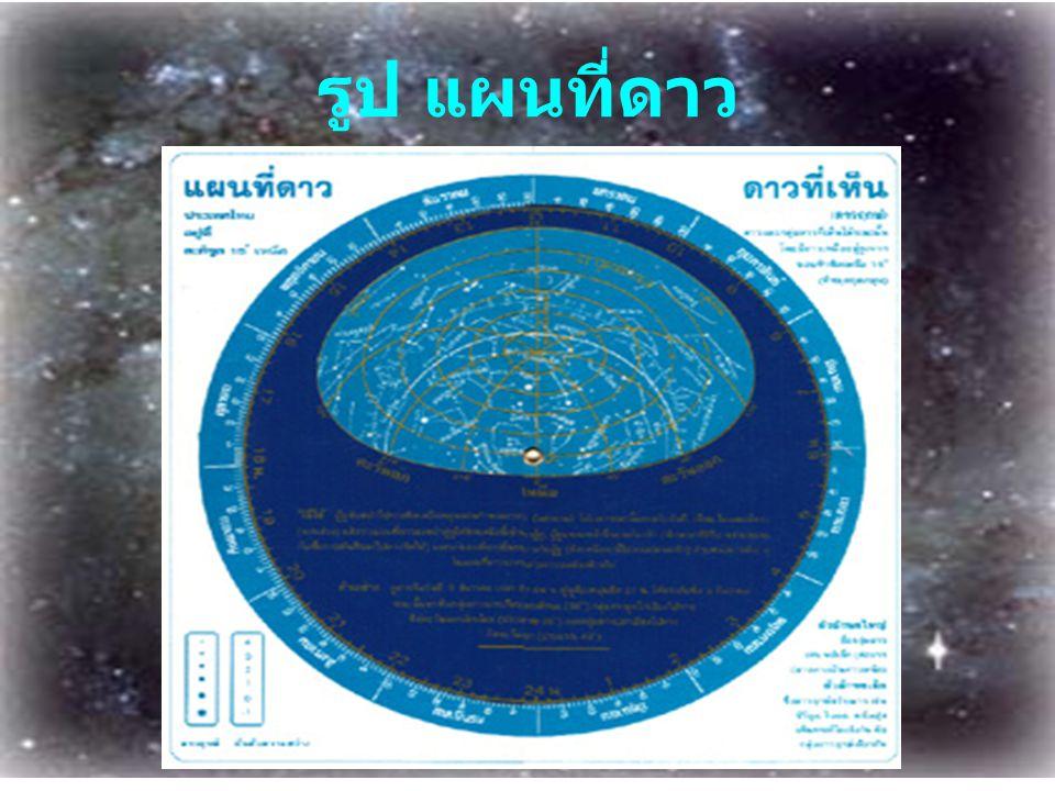 รูป แผนที่ดาว