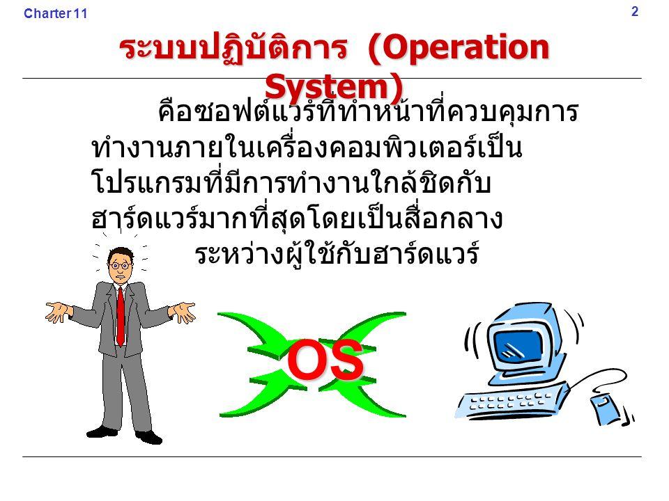 ระบบปฏิบัติการ (Operation System)