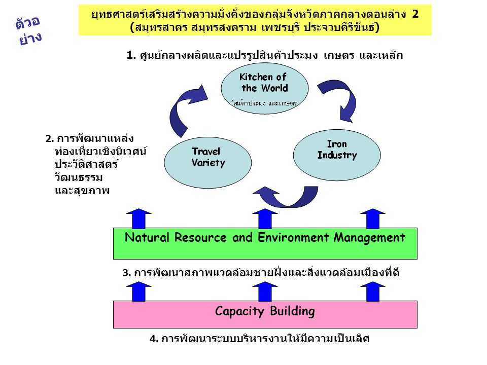 ตัวอย่าง Natural Resource and Environment Management Capacity Building