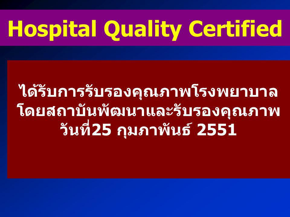 Hospital Quality Certified
