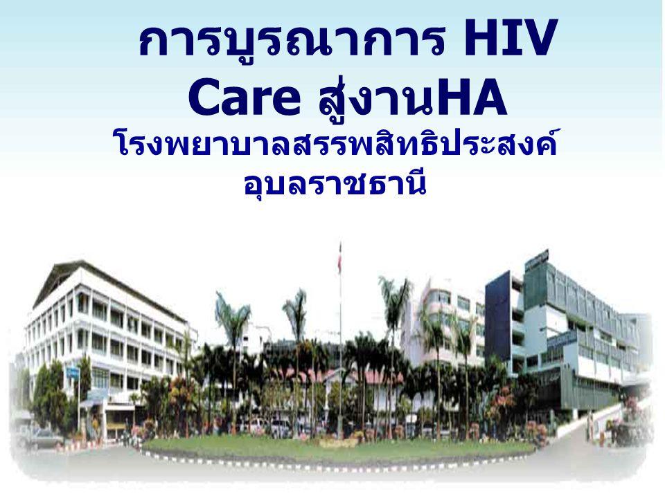 การบูรณาการ HIV Care สู่งานHA