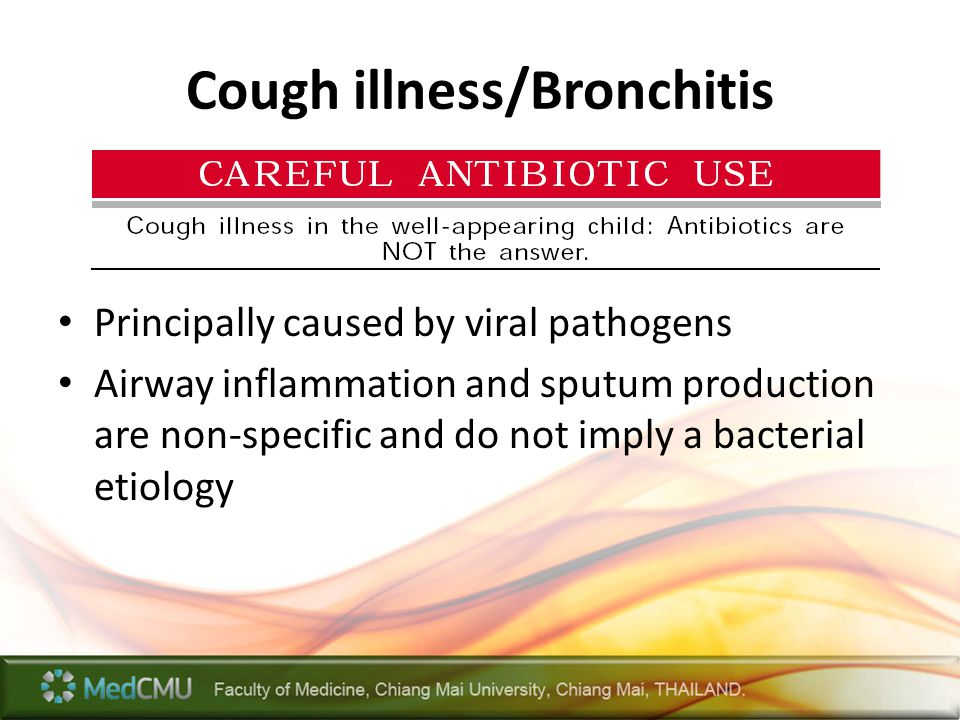 Cough illness/Bronchitis
