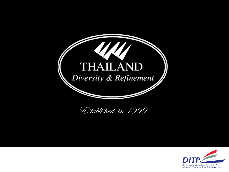 Established in 1999 ความเป็นมา