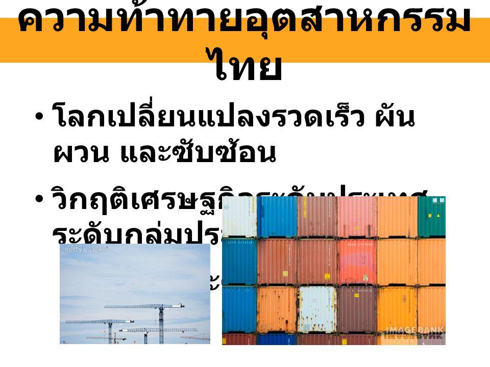 ความท้าทายอุตสาหกรรมไทย