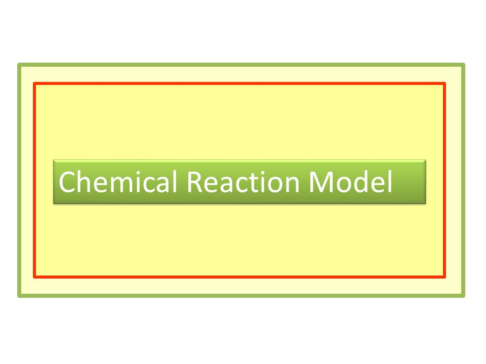 Chemical Reaction Model