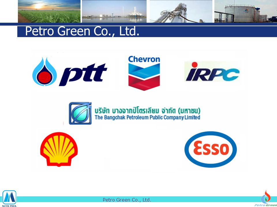 Petro Green Co., Ltd. Petro Green Co., Ltd.
