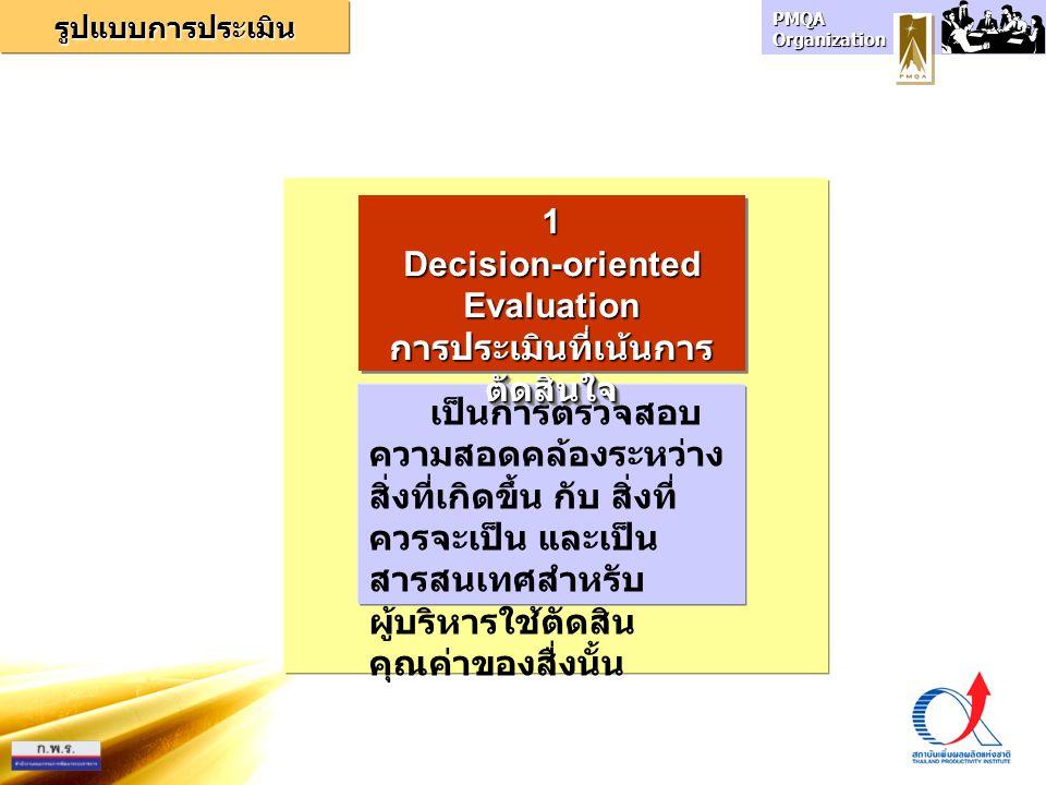 การประเมินที่เน้นการตัดสินใจ