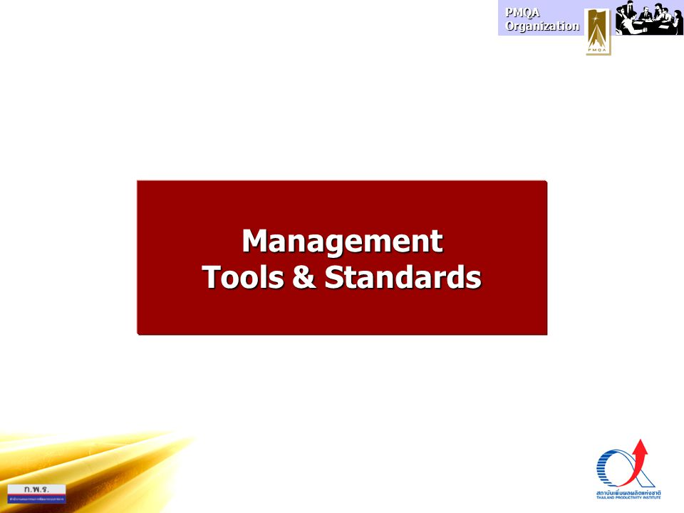 Management Tools & Standards