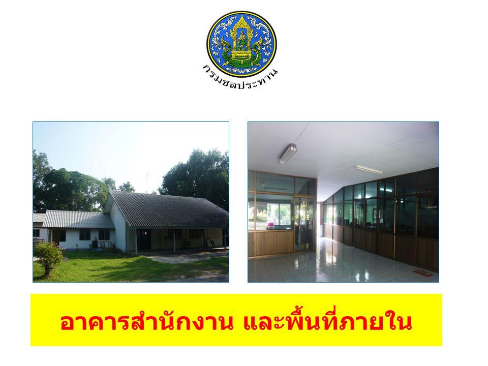 อาคารสำนักงาน และพื้นที่ภายใน