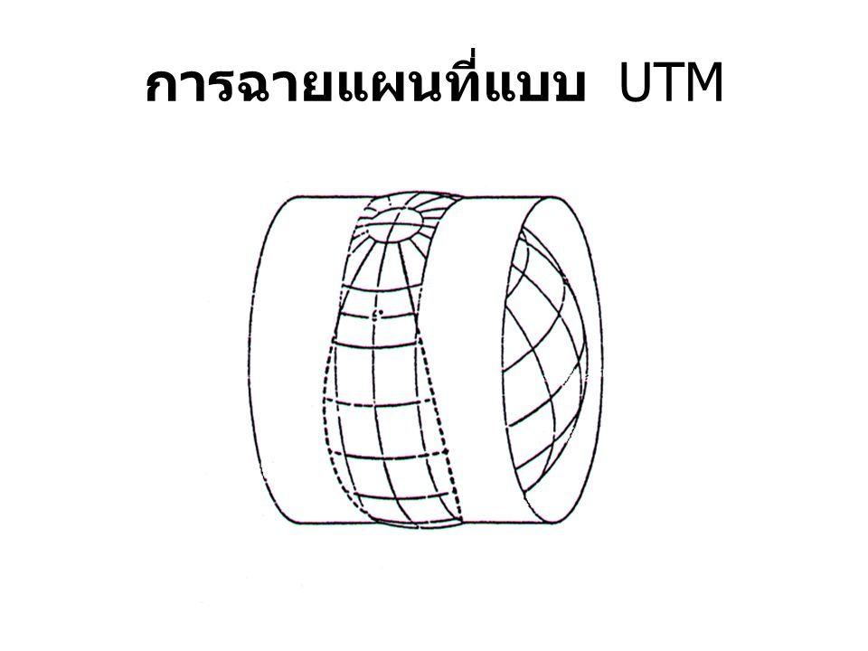 การฉายแผนที่แบบ UTM