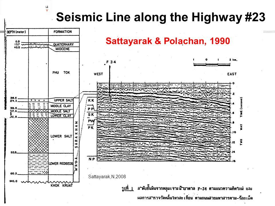 Seismic Line along the Highway #23