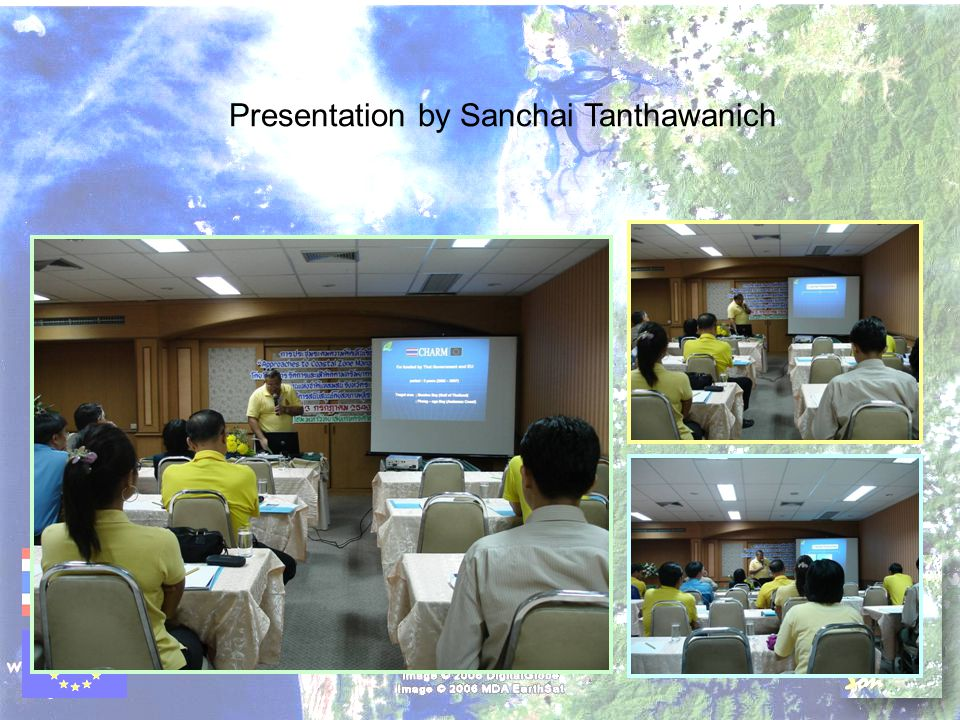 Presentation by Sanchai Tanthawanich