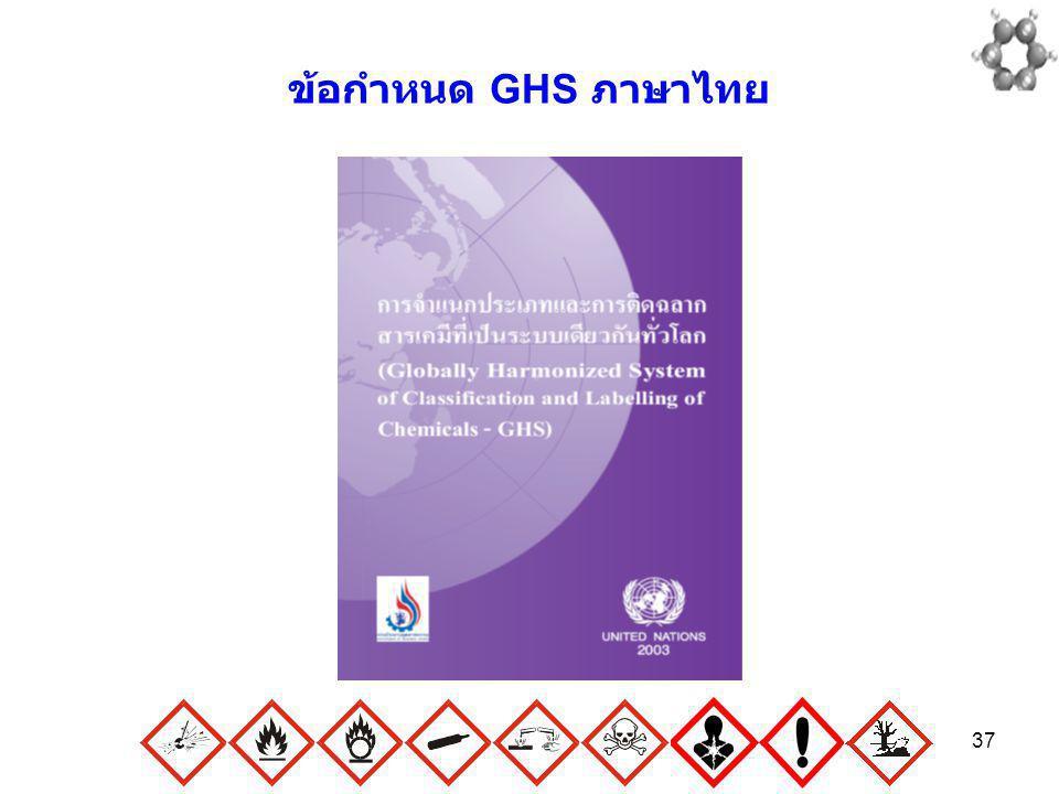 ข้อกำหนด GHS ภาษาไทย