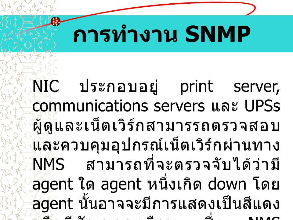 การทำงาน SNMP
