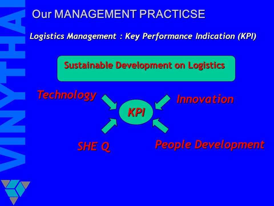 Sustainable Development on Logistics