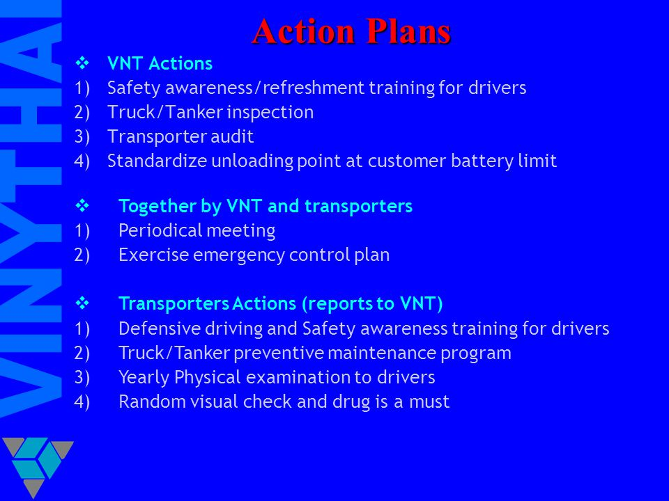 Action Plans VNT Actions