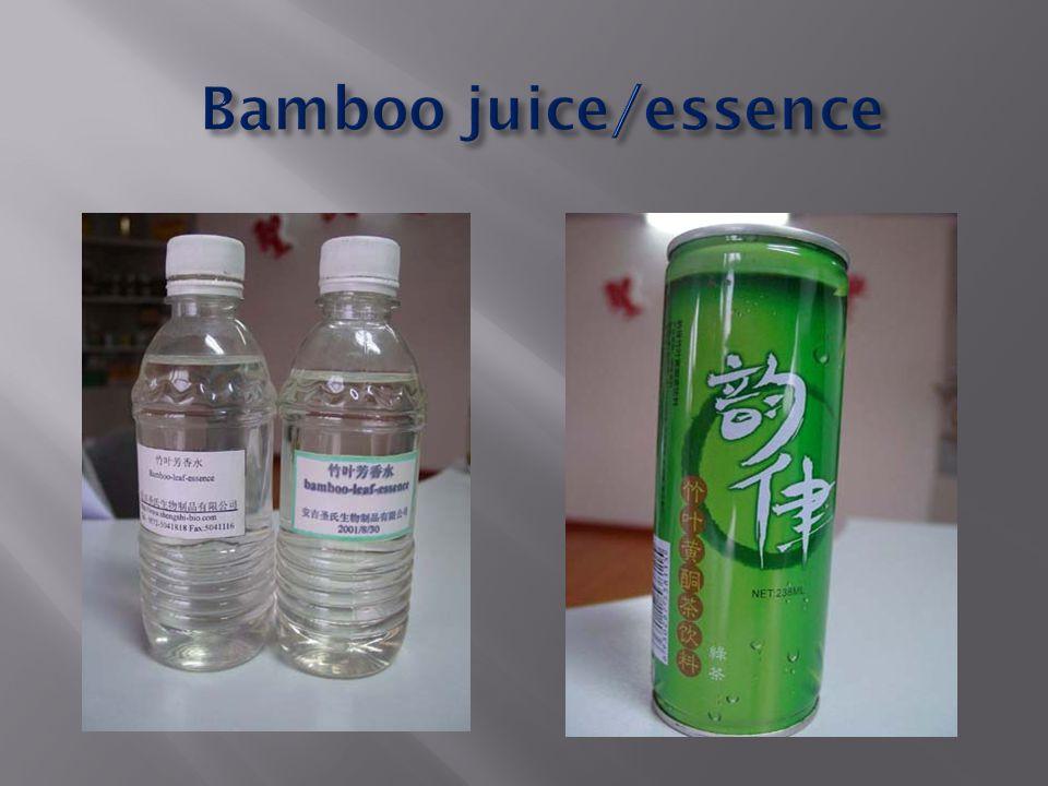 Bamboo juice/essence