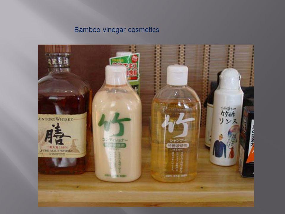 Bamboo vinegar cosmetics