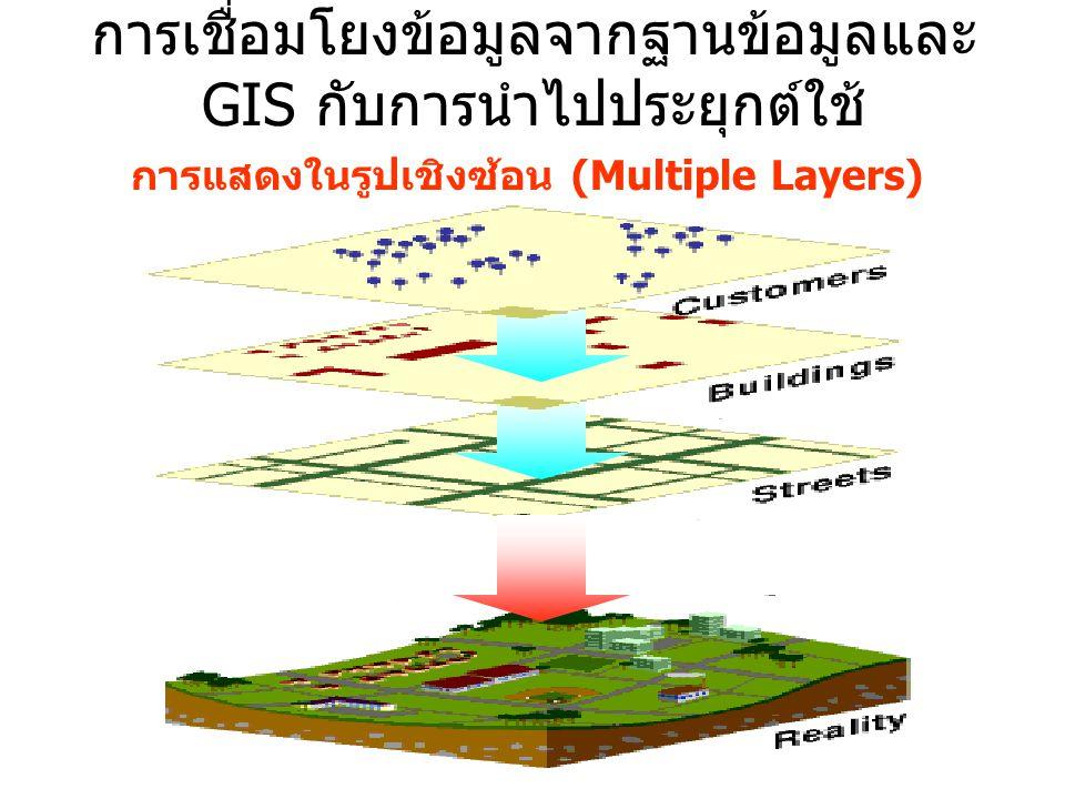 การแสดงในรูปเชิงซ้อน (Multiple Layers)