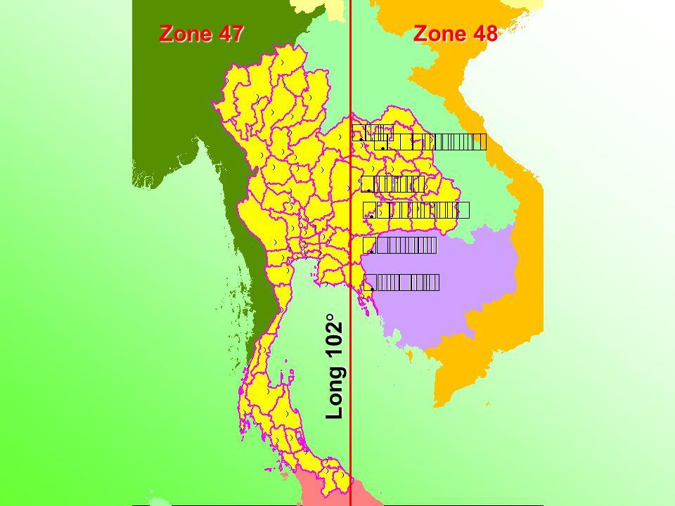 Zone 47 Zone 48 Long 102