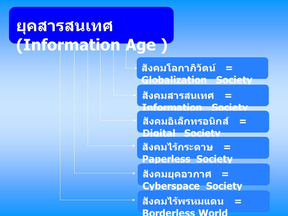 ยุคสารสนเทศ (Information Age )
