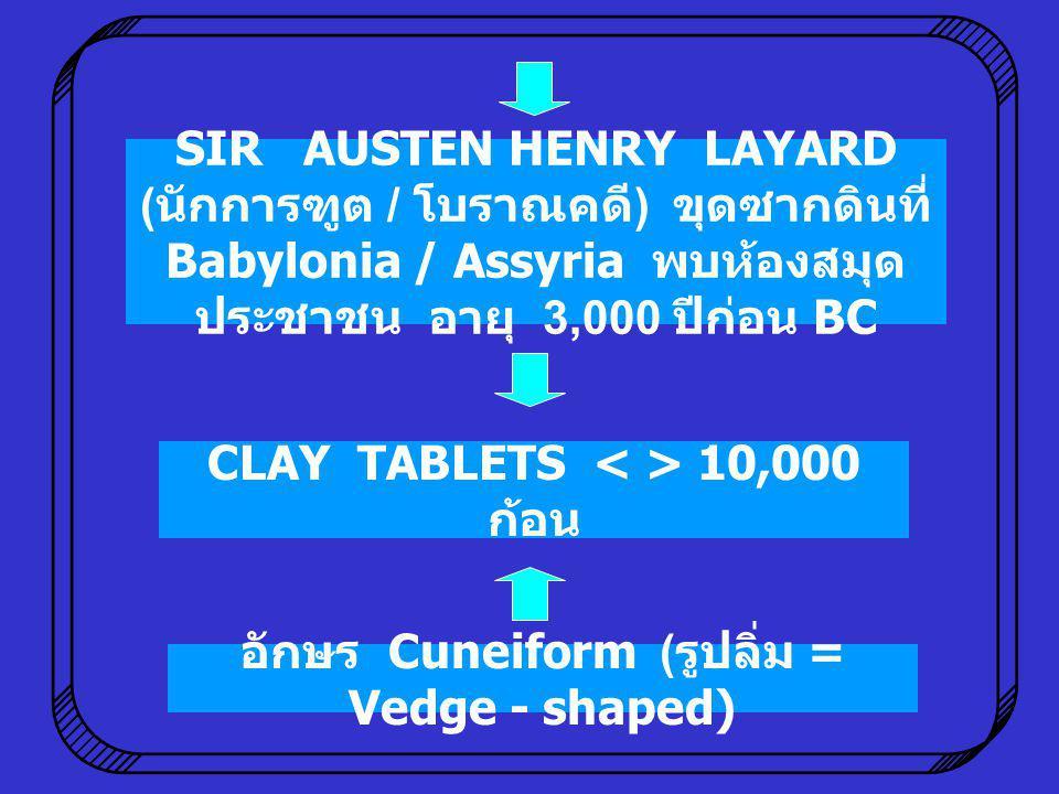 CLAY TABLETS < > 10,000 ก้อน