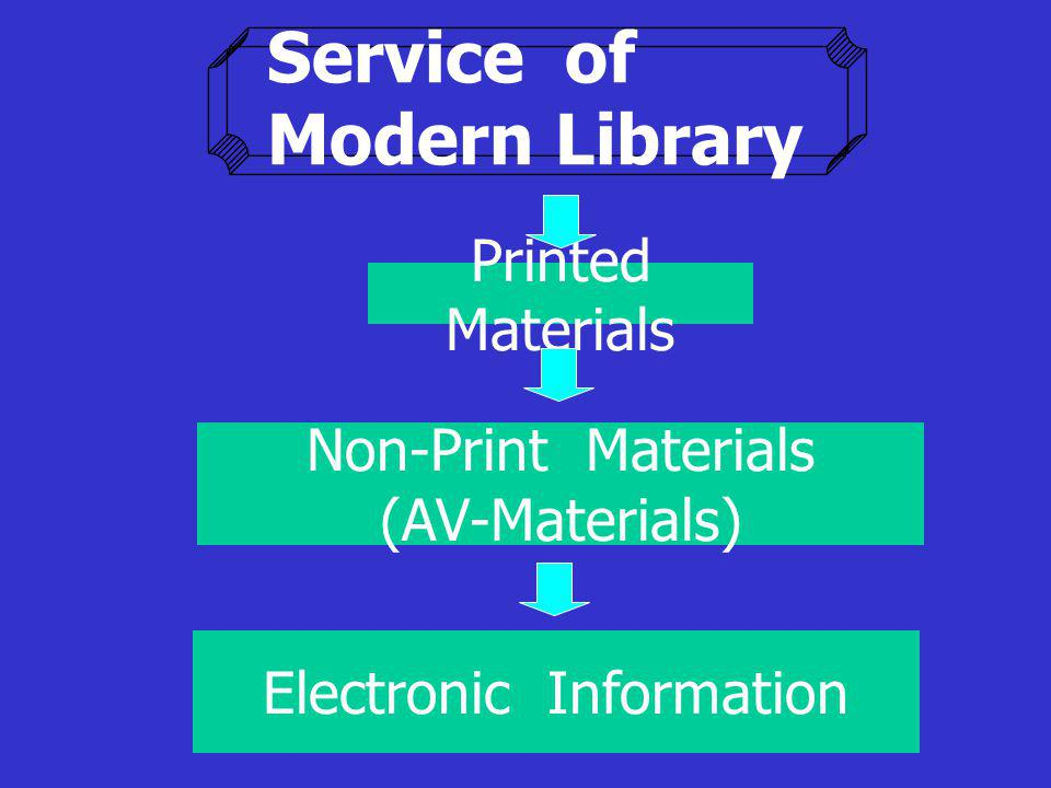Service of Modern Library