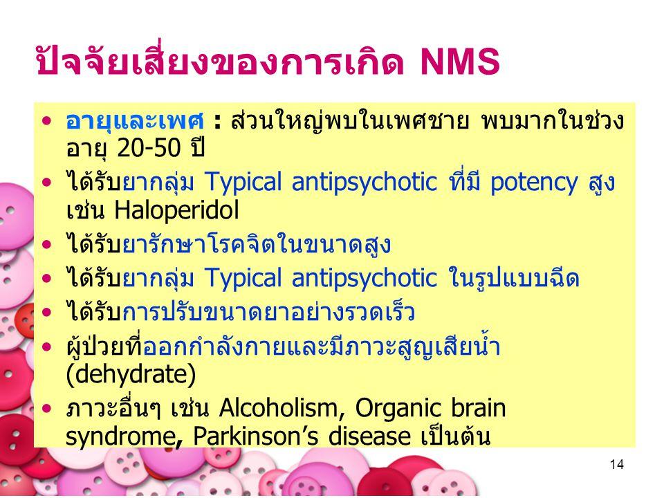 ปัจจัยเสี่ยงของการเกิด NMS
