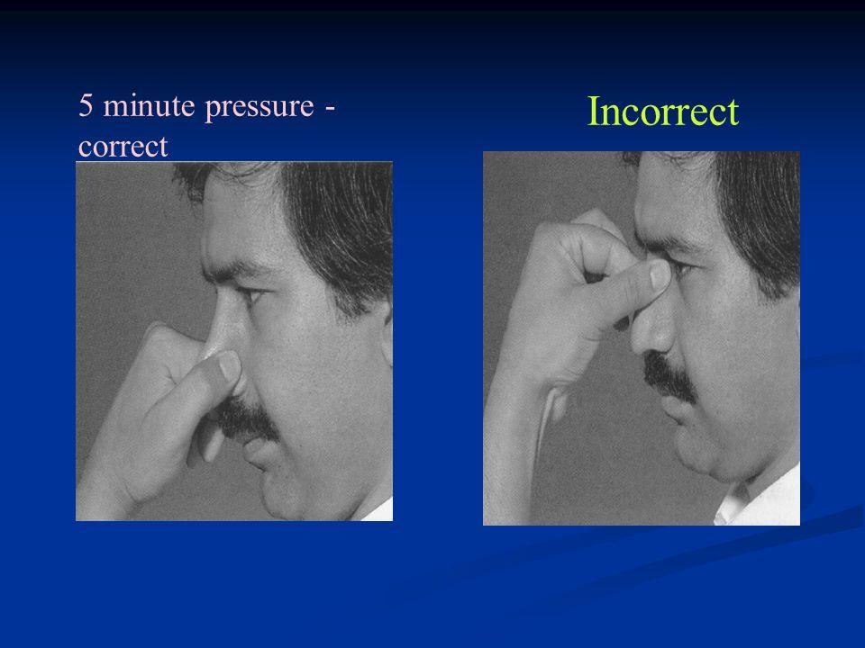 5 minute pressure - correct