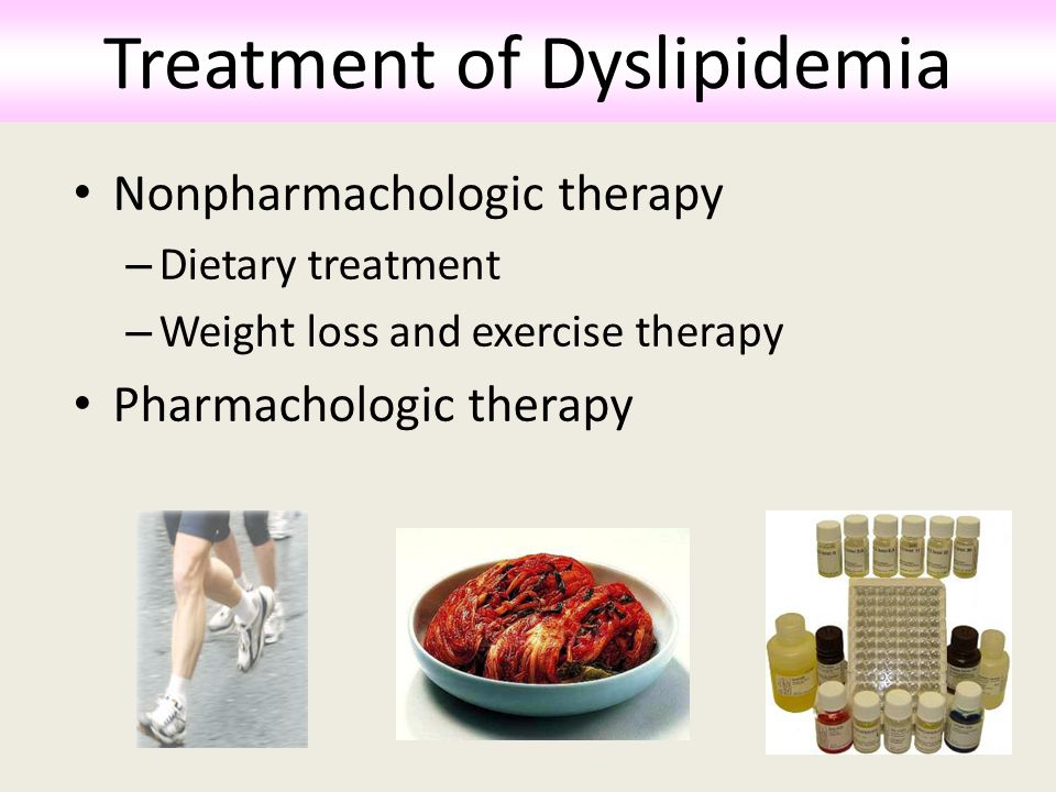 Treatment of Dyslipidemia
