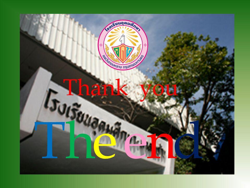 Thank you T h e e n d