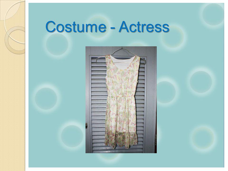 Costume - Actress