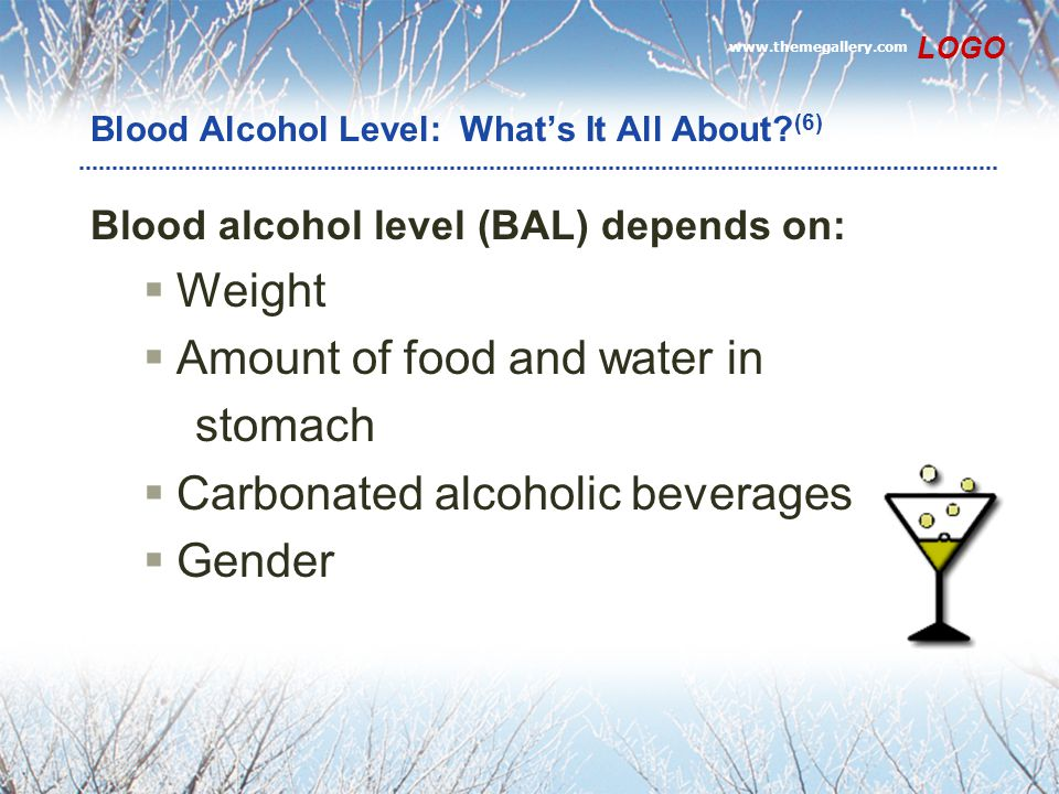 Blood Alcohol Level: What's It All About (6)