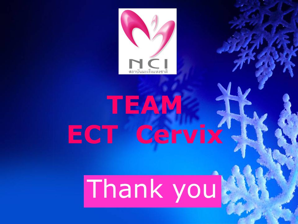 TEAM ECT Cervix Thank you