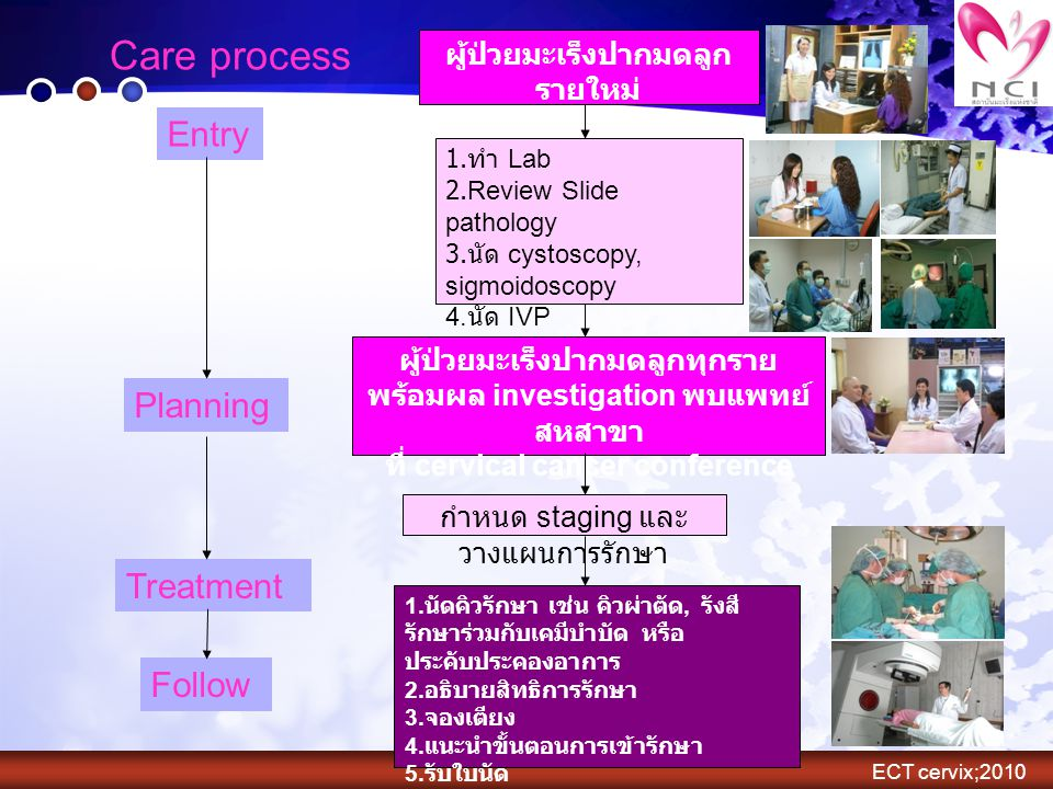 Care process Entry Planning Treatment Follow